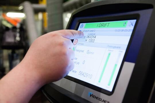 Tinh chỉnh thông số máy in phun Videojet