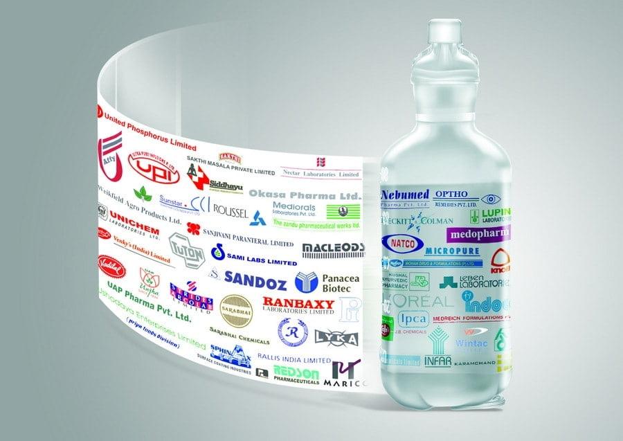 máy dán nhãn lọ thuốc chai nhựa 1