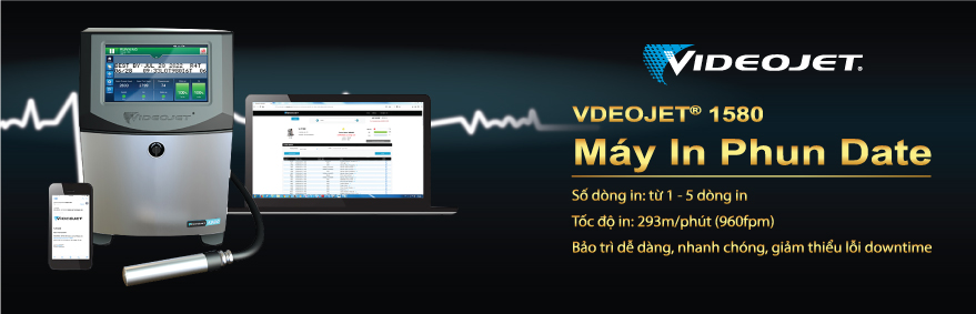 May in phun date Videojet 1580