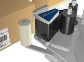Máy in thùng dán nhãn tự động